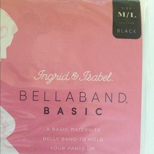 Ingrid & Isabel Other - Ingrid & Isabel Bellaband Basic Size M/L Black